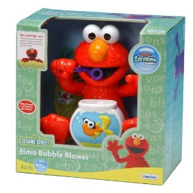 Gazillion Bubbles Elmo Motorized Bubble Blower